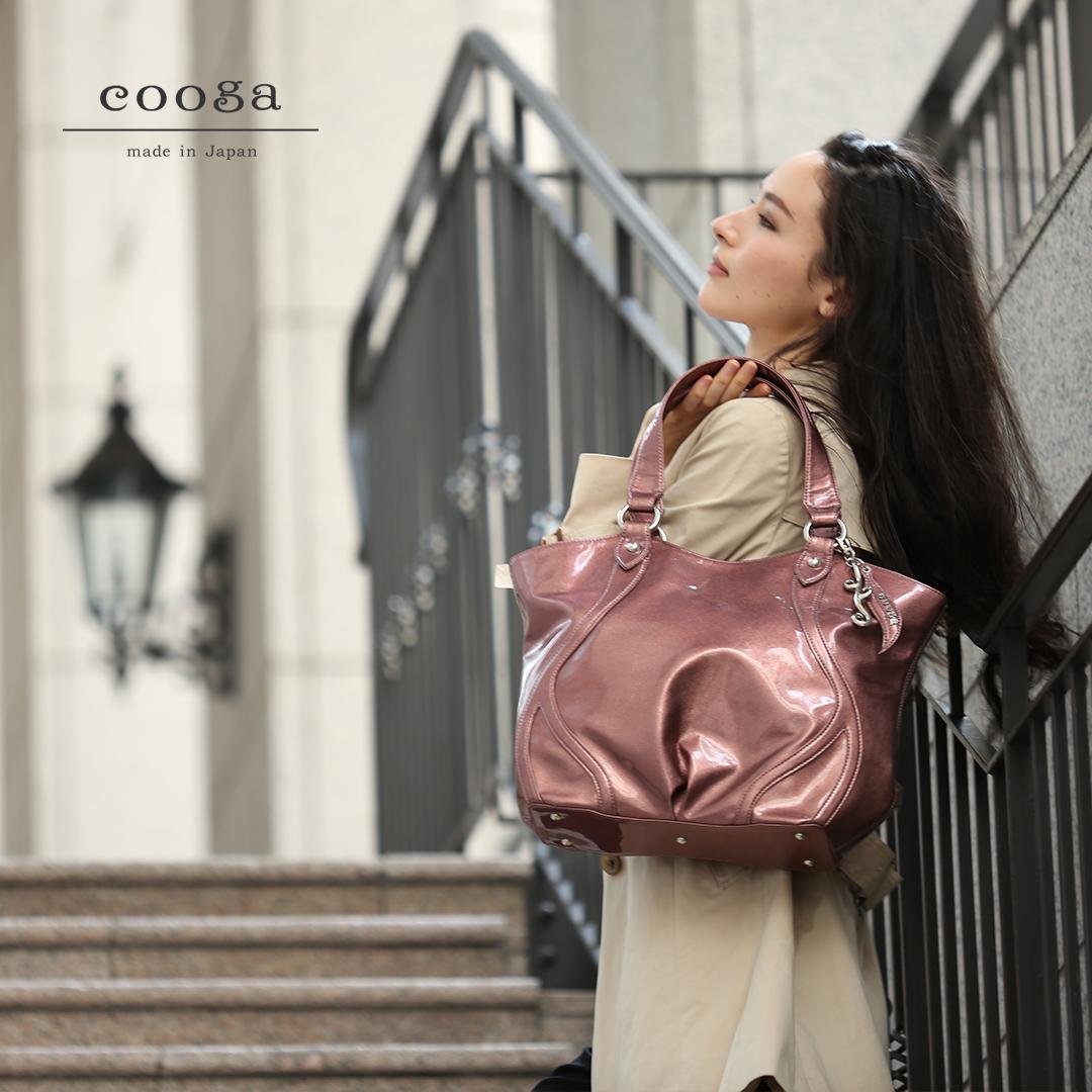 知る人ぞ知る、日本製の優秀ブランド5選は【cooga】しなやかな曲線をまとったA4トート『Waves(ウェーヴス)』です